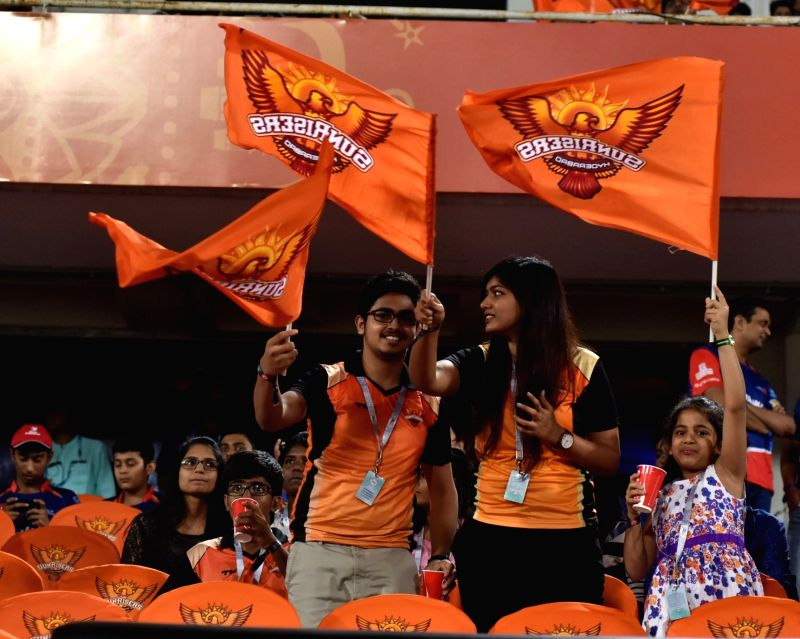 Spectators during an IPL 2017 match between Sunrisers Hyderabad and Delhi Daredevils at Rajiv Gandhi International Stadium in Hyderabad on April 19, 2017.
