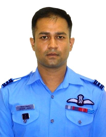 Squadron er S. Tiwari one of the seven crew members of the Indian Air Force (IAF) helicopter Mi-17 V5 that crashed in Arunachal Pradesh's Tawang on India-China border on 6th October, 2017. (File ...