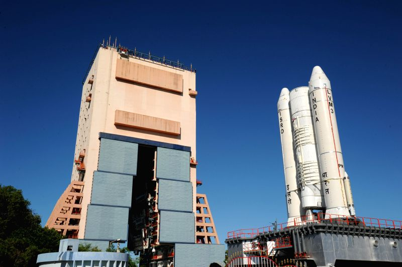 ISRO's most powerful launcher ever, GSLV Mk-III being rolled out from the Vehicle Assembly Building to the launch pad for its Experimental Flight slated later in this month, at ...
