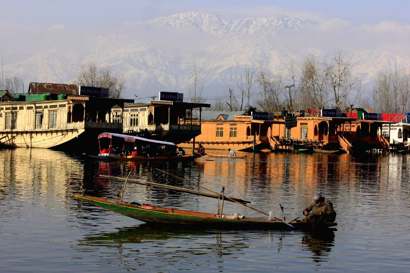 A spectacular view of the Dal Lake in Srinagar, on March 20, 2015.
