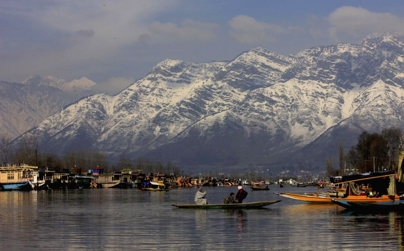 A view of Dal Lake in Srinagar, on March 11, 2015.