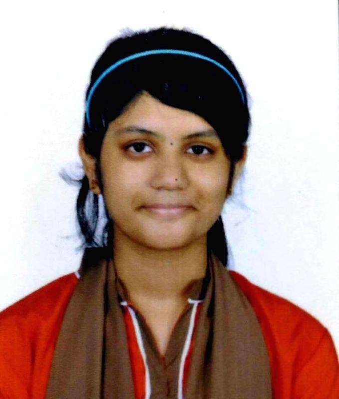 Srujana who hails from Mangaluru and has scored 596 marks in Karnataka Second PUC Science exams. (File Photo: IANS)