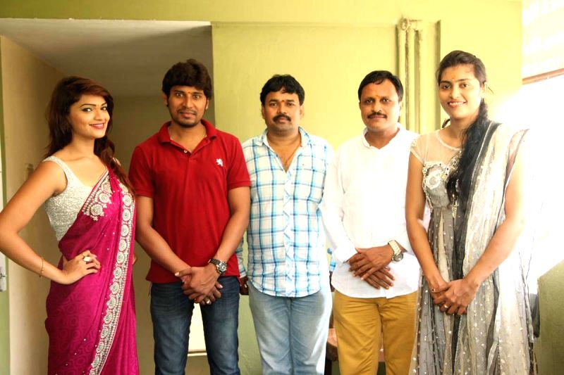 SS Celluloid`s new telugu film opening.