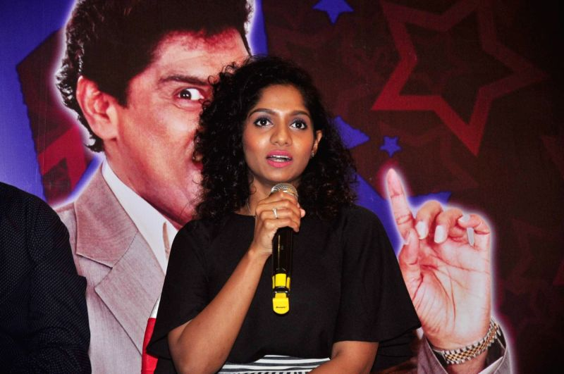 Stand-up comedian Jamie Lever during a press conference to announce tour of The King of Comedy show in the United States of America in Mumbai on November 25, 2015.
