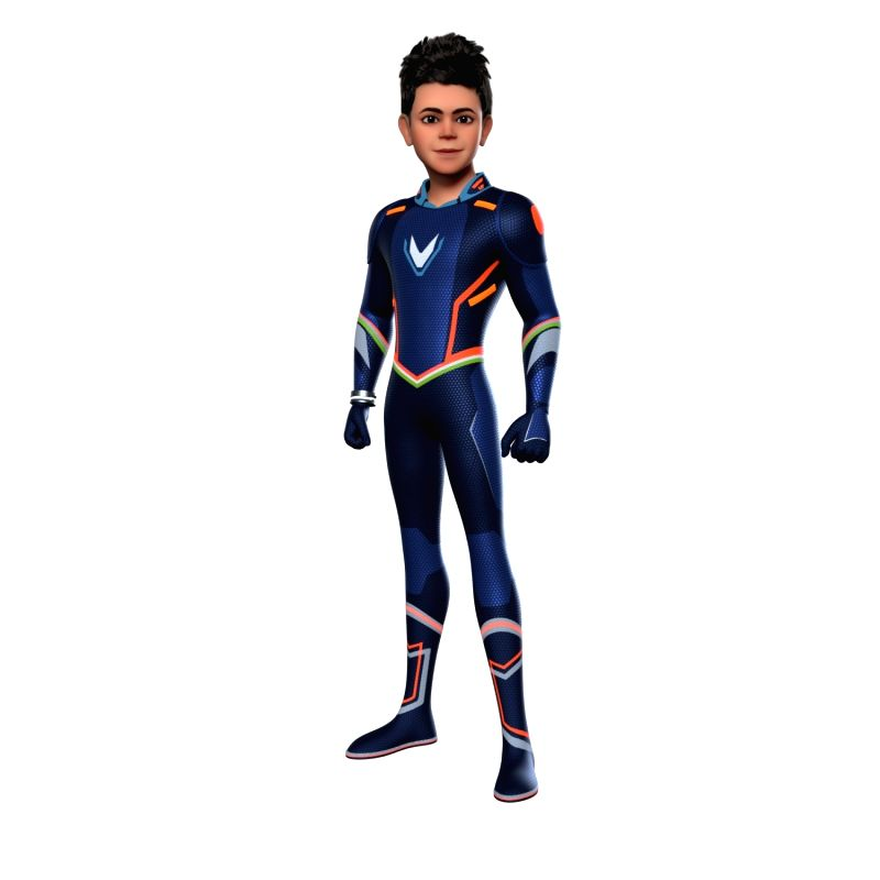 """Star cricketer Virat Kohli will soon be seen in an animated superhero avatar in the small screen series, """"Super V""""."""