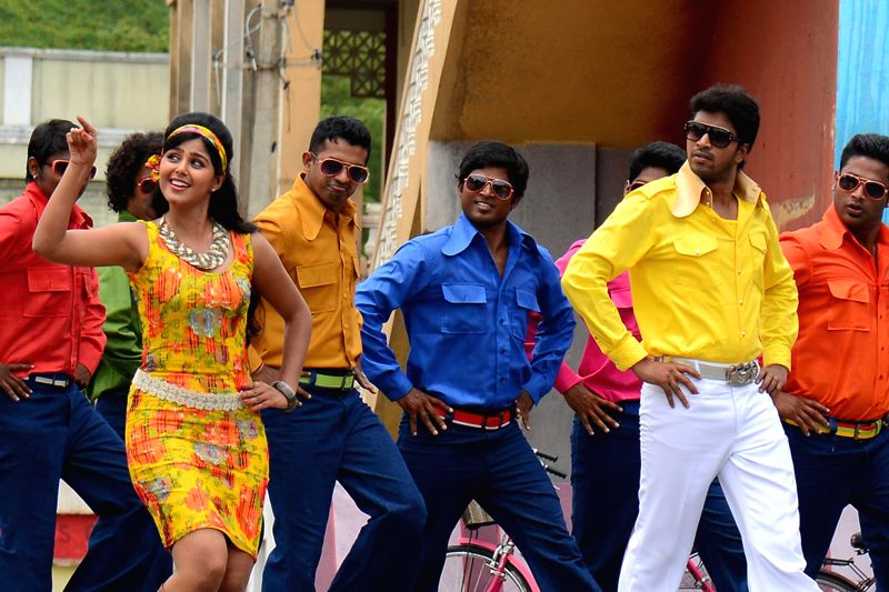 Still of Telugu film `Brother of Bommali`.