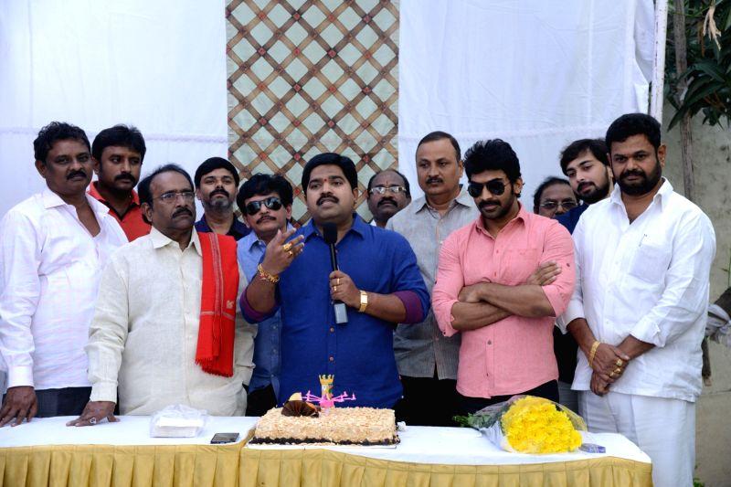 Stills form the birthday celebrations of Producer Dasari Kiran. (Photo : IANS)