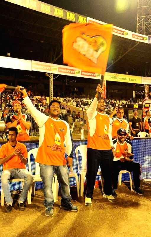 Stills from CCL 5 Kerala Strikers Vs Veer Marathi match