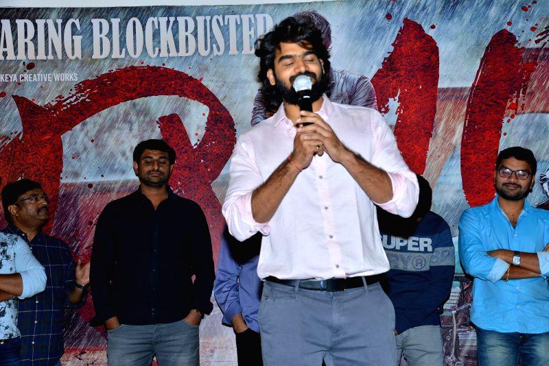 Stills from RX100 movie 25 days celebrations in Hyderabad.