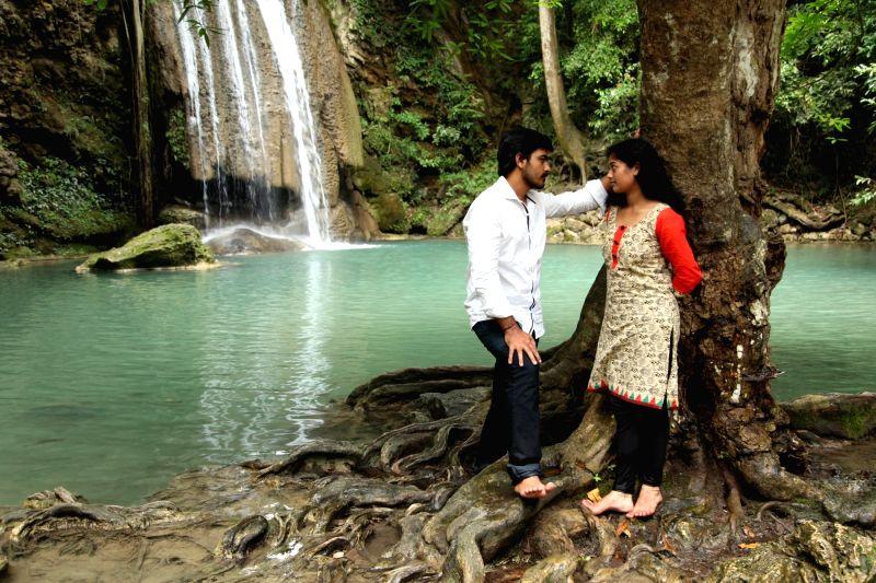Stills from Tamil film `Aaranyam` .