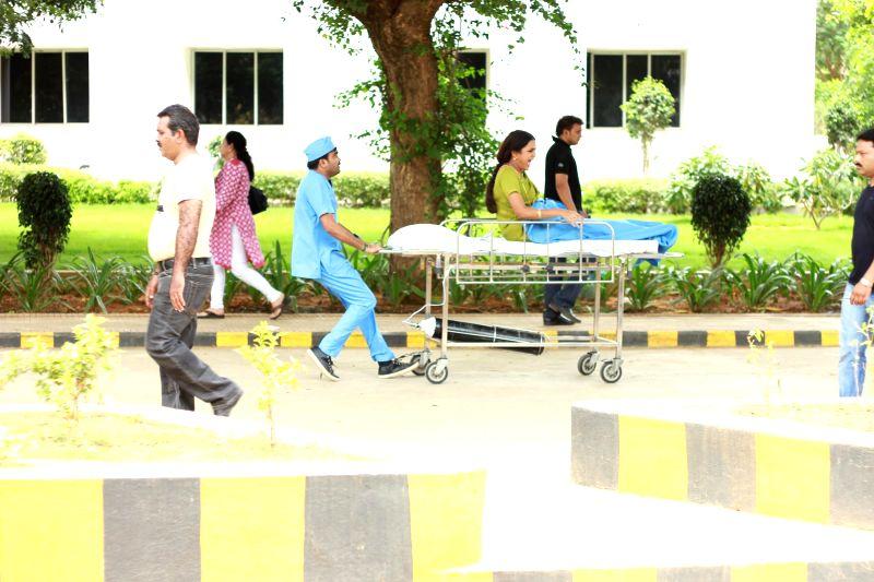 Stills from Tamil film `Aavi Kumar`.
