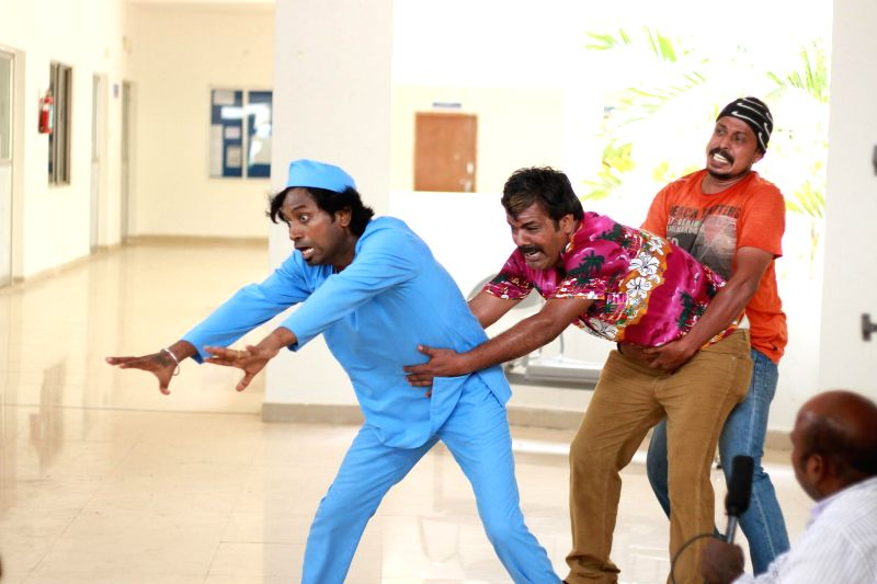 Stills from Tamil film `Aavi Kumar`.