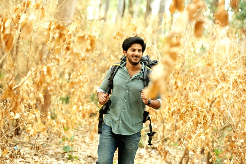 "Stills from Telugu film ""Andamaina Jeevitam"" in Hyderabad."