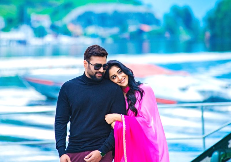 """Stills from Telugu film """"BALAKRISHNUDU"""" in Hyderabad."""