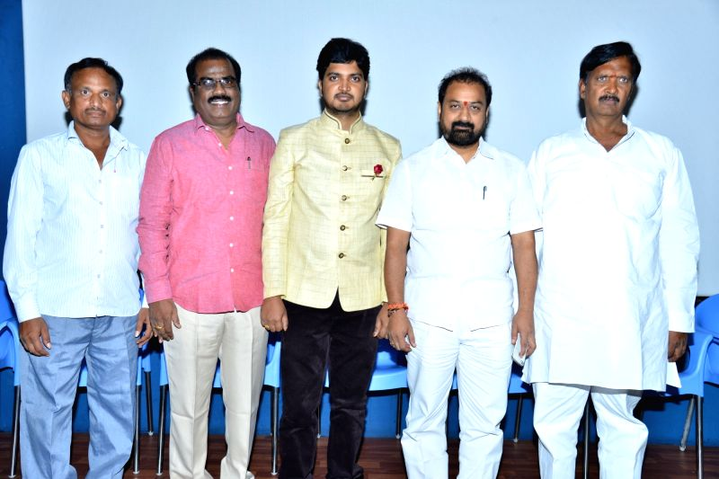 Stills from Telugu film 'Best Lovers' press meet in Hyderabad.