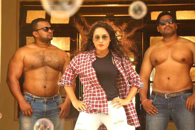 "Stills from Telugu film """"Devi Sri Prasad"" in Hyderabad."