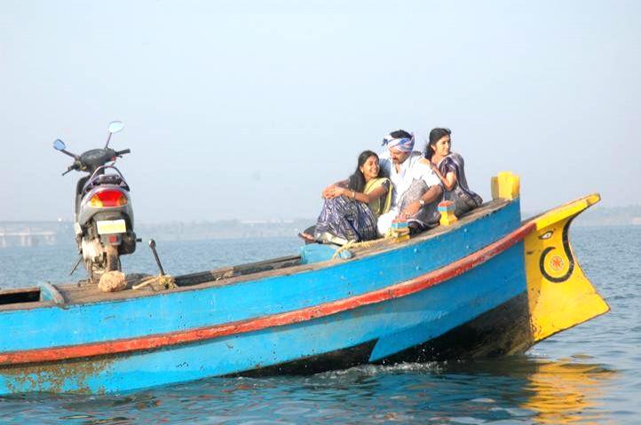 Stills from Telugu film 'Naa Bangaru Talli'.