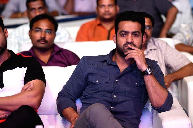 Stills from Telugu film 'Naa Nuvve' press meet in Hyderabad.