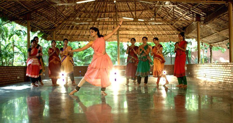Stills from Telugu film `Natyam`