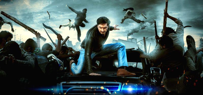 """Stills from Telugu film """"Oxygen"""" in Hyderabad."""