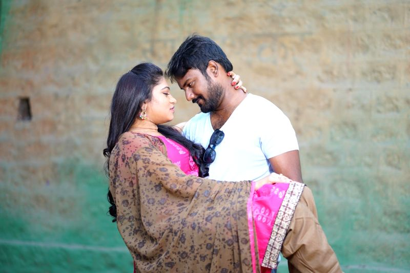 Stills from telugu film 'Paisa Paramatma' in Hyderabad.