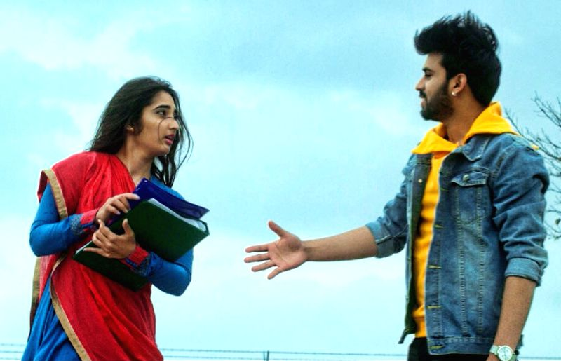 "Stills from Telugu film ""Prema Entha Madhuram Priyuralu Antha Katinam"" in Hyderabad."