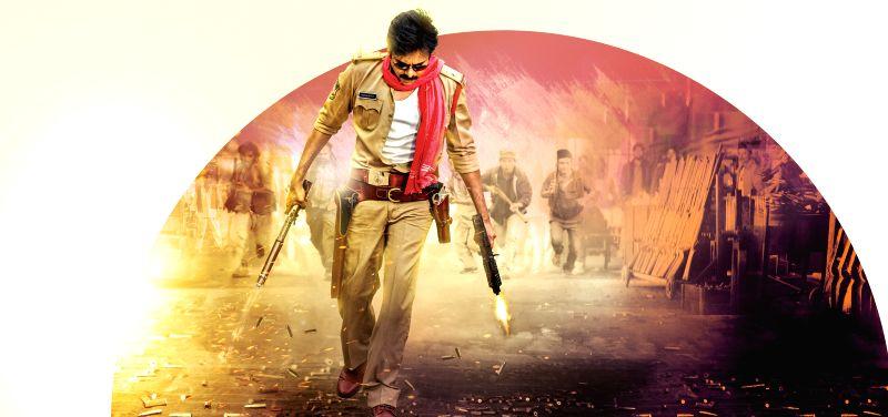 Stills from Telugu film `Sardaar Gabbar Singh`.