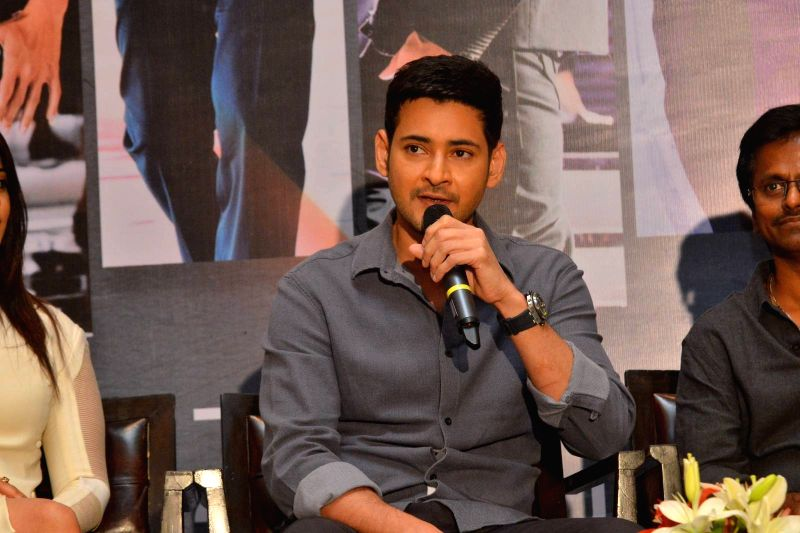 "Spyder"" Press Meet - Stills"