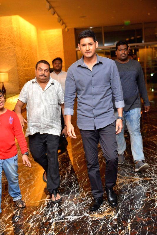 "Stills from Telugu film ""Spyder"" in Hyderabad."