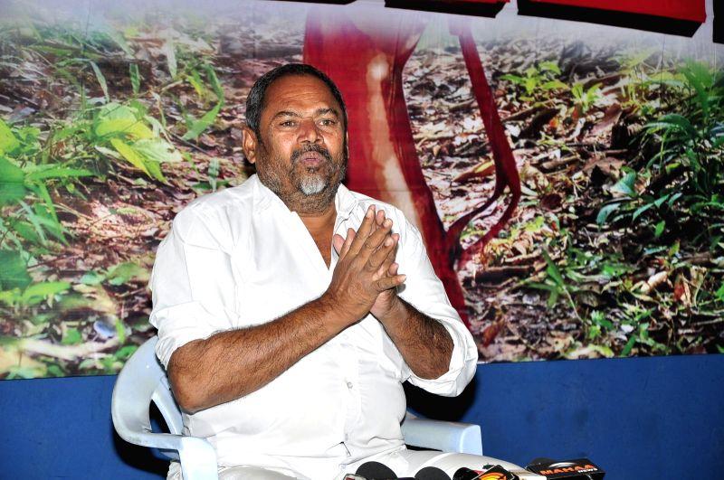 Stills from the press conferenc of the film `Dandakaranyam`.