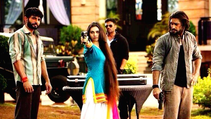 Stills from upcoming Hindi film `Desi Kattey`.