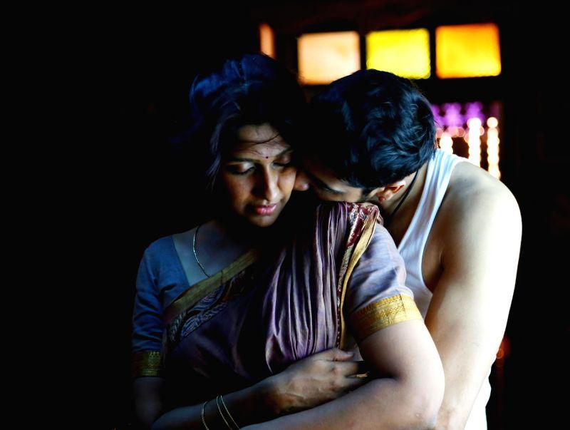 Stills from upcoming Tamil film 'Andhra Mess' .