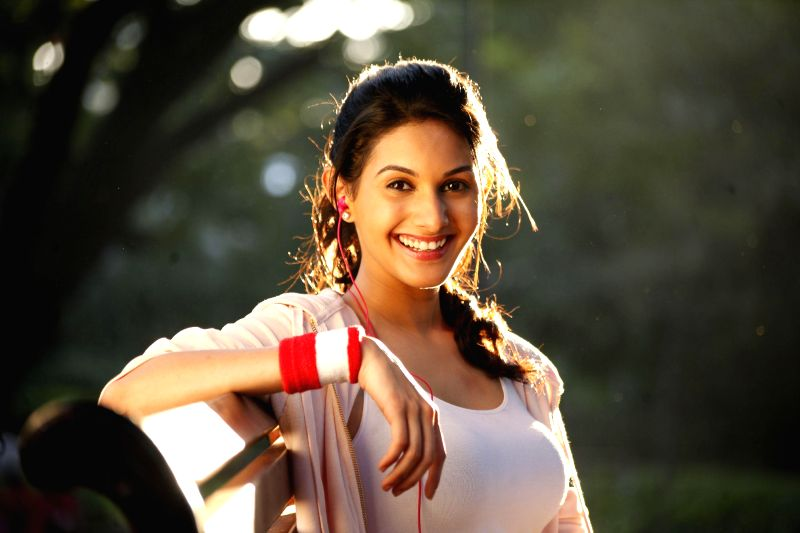 Stills from upcoming Tamil film Anegan.