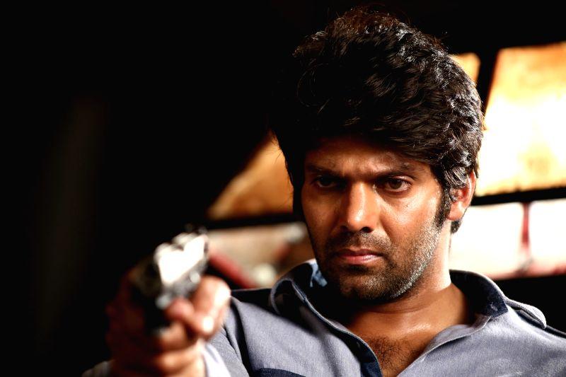 Stills from upcoming Tamil film 'Meagamann'.
