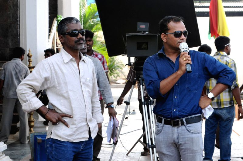 Stills from upcoming Tamil film `Megha`.