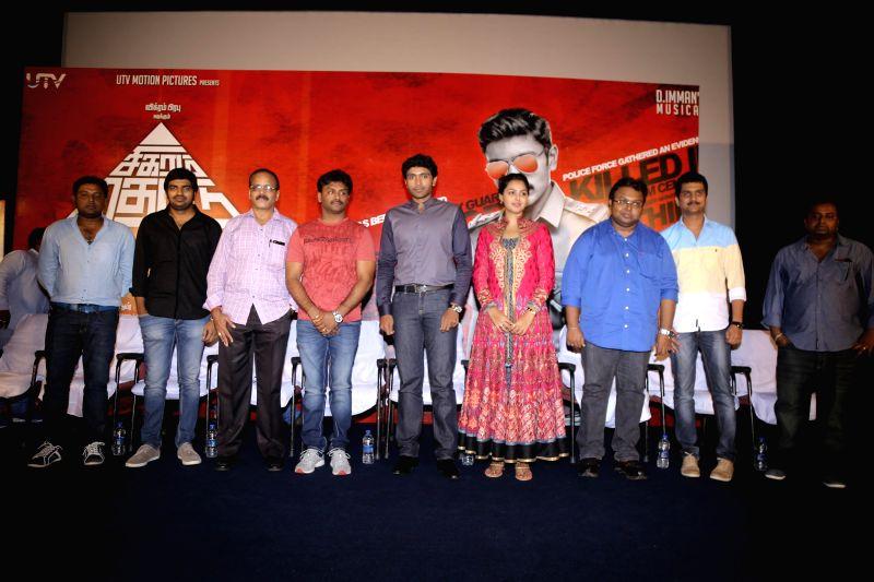 Stills from upcoming Tamil film `Sigaram Thodu`.