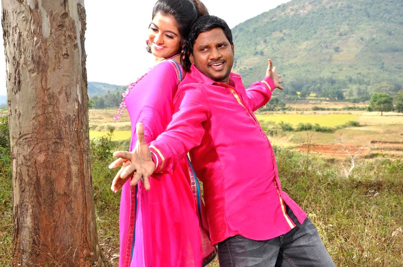 Stills from upcoming Telugu film 'AK Rao PK Rao'.