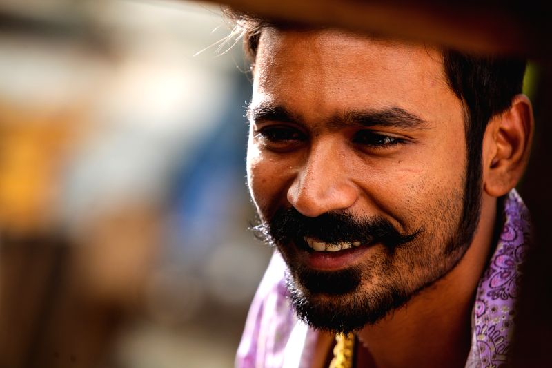 Stills of actor Dhanush from the Tamil film `Maari`. - Dhanush