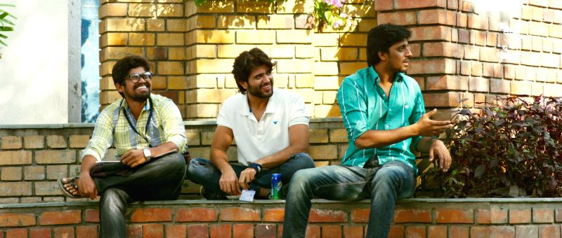 Stills of film Pelli Choopulu .