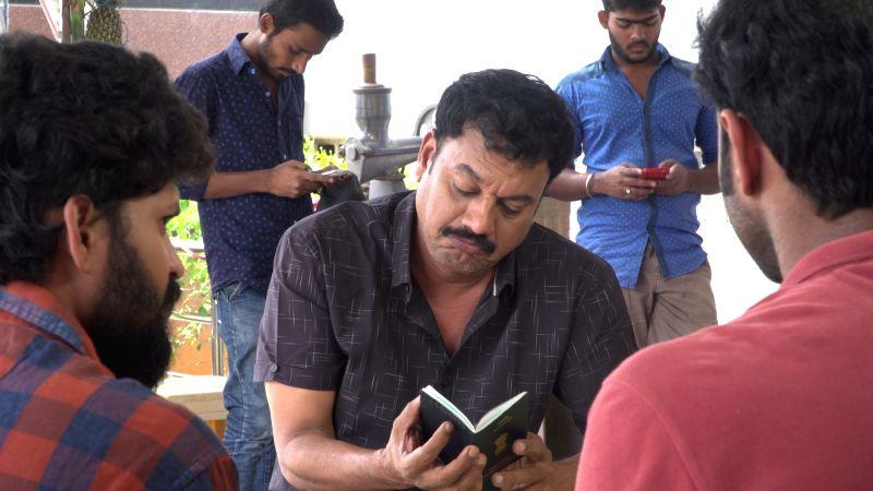 "Stills of Telugu film ""Greencard"