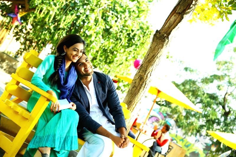 Stills of telugu film Kaadhali.