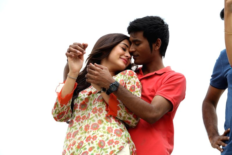 Stills of Telugu film Nava Manmadhudu.