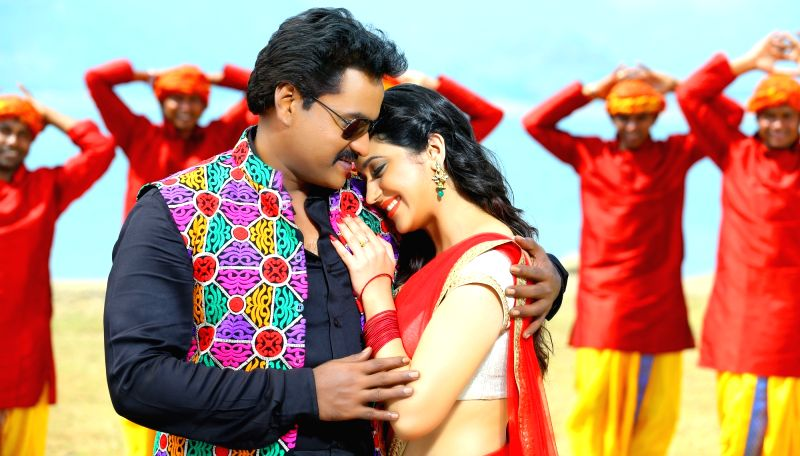 Stills of Telugu film Ungarala Rambabu.