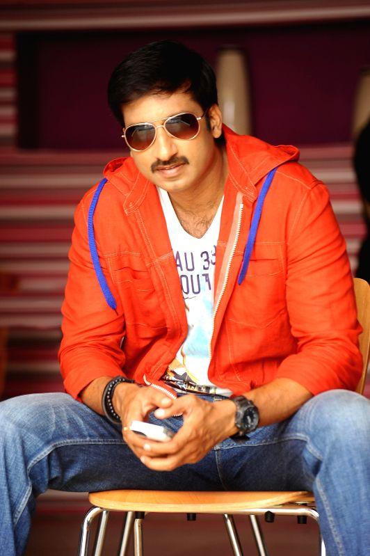 Stills of Telugu movie Loukyam.