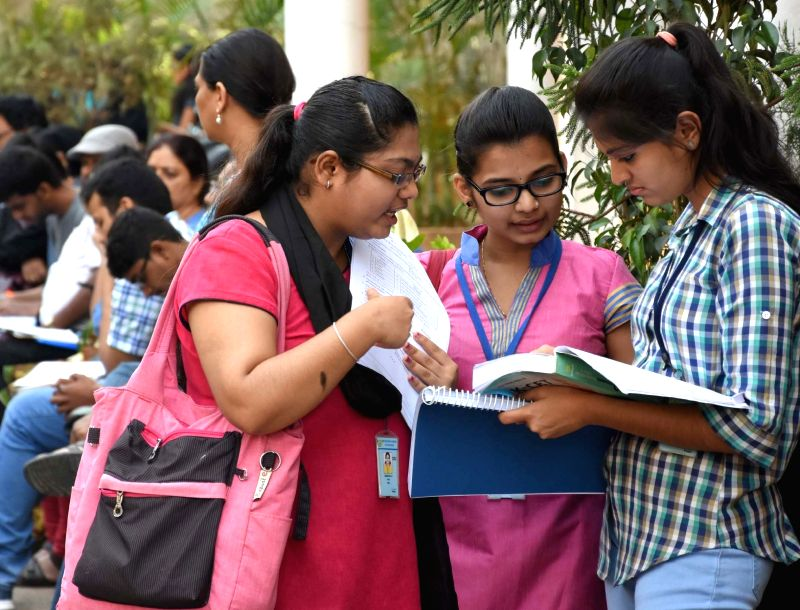 Students appear for CET in Bengaluru on May 2, 2017.