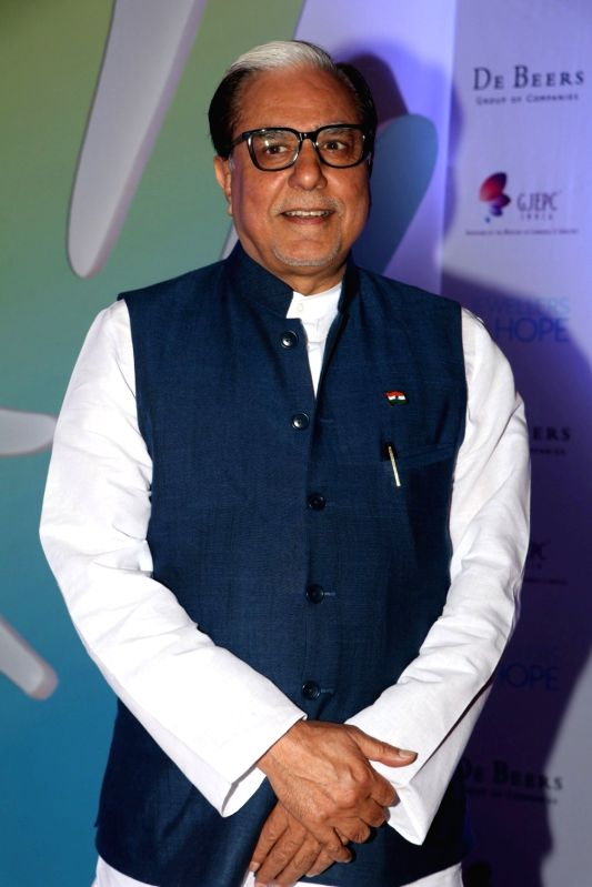 Subhash Chandra, Chairman, Essel Group during Jewellers for Hope Charity Dinner event in Mumbai, on Aug 4, 2016.
