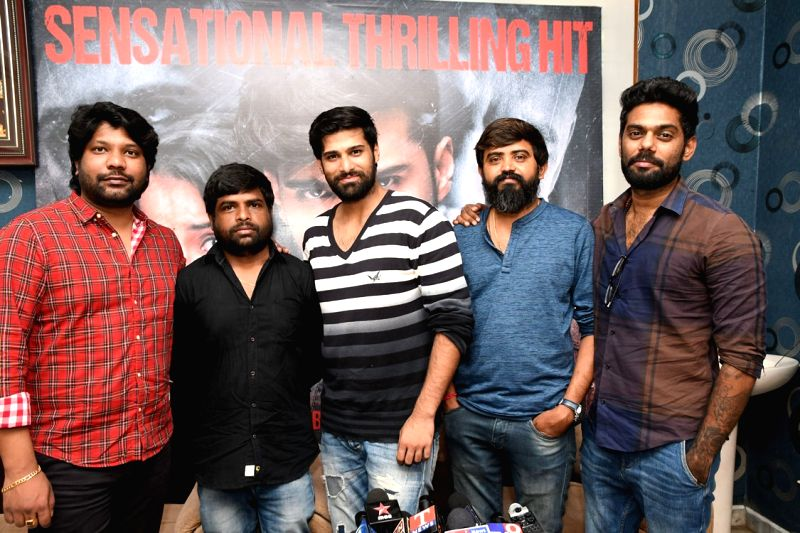 Suceses meet of Telugu film Venkatapuram.