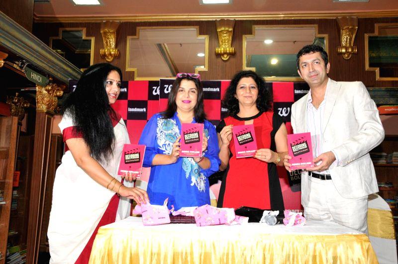Sudha, filmmaker Farah Khan, Author Sonia Golani and filmmaker Kunal Kohli during the launch of book Decoding Bollywood by author Sonia Golani in Mumbai, on Aug 28, 2014. - Farah Khan and Kunal Kohli