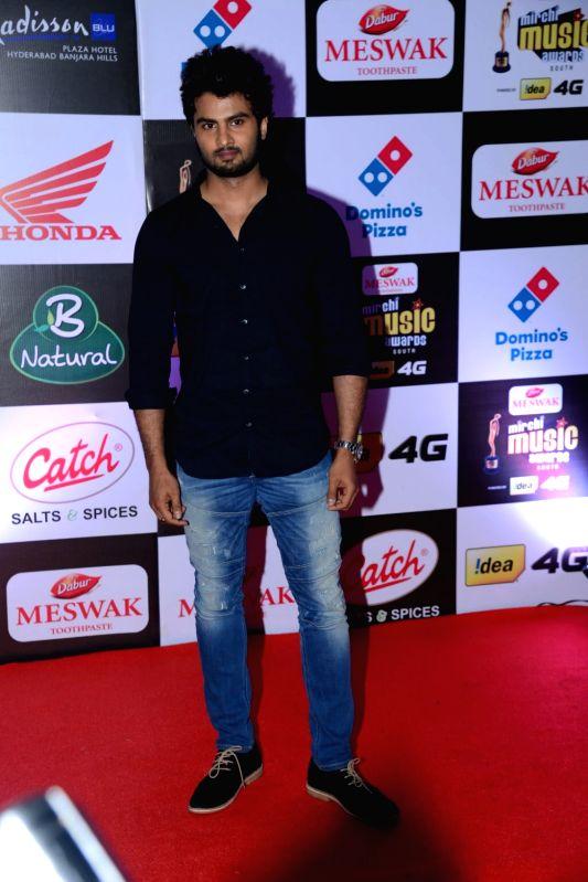 Sudheer Babu at Mirchi Music Awards South 2016, on July 27, 2016.