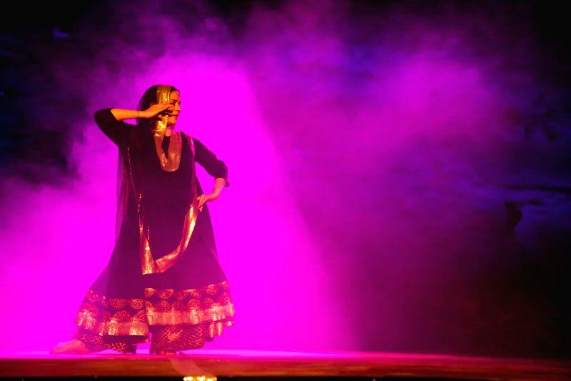 Sufi Kathak dancer Manjari Chaturvedi